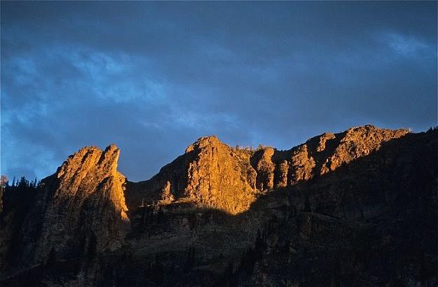 Crescent Lake Peaks