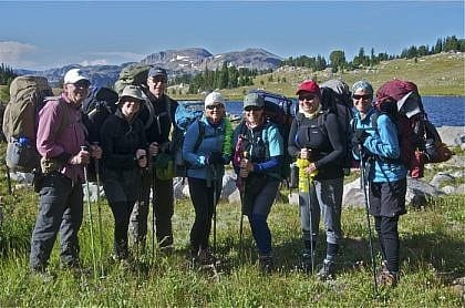 Montana Backpacking Guided Tours In The Beartooth Mountains