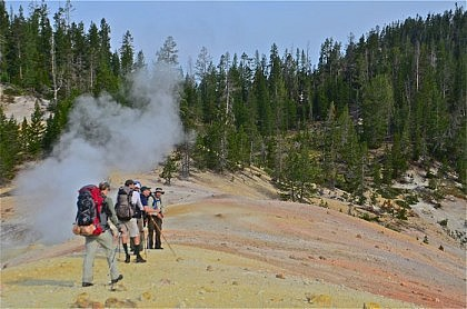Hot Spring Hikers