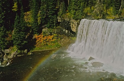 Bechler River Canyon - Yellowstone Backpacking Trips
