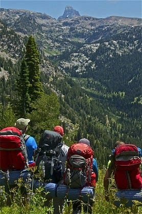Tetons Backpacking