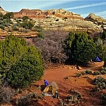 Upper Salt Camp - Backpacking Utah