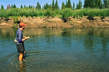 Yellowstone Fisherman